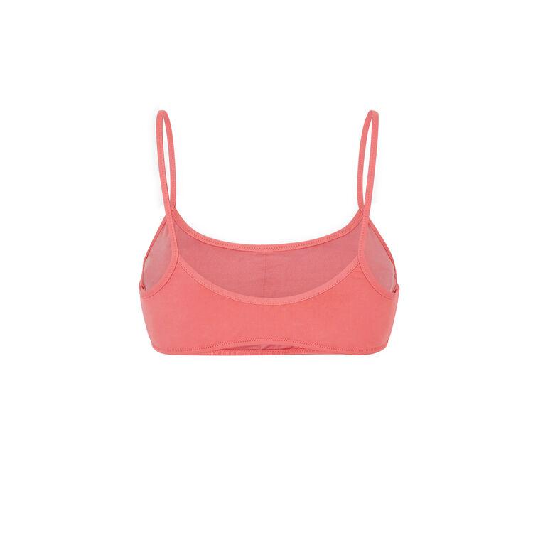 Haut de maillot de bain bralette rose sifnosiz pink.