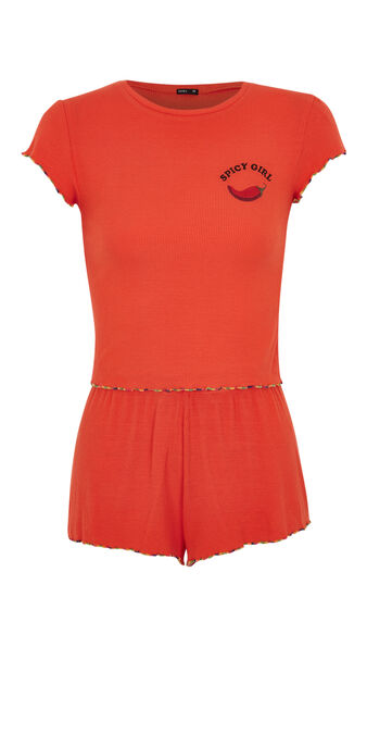 Set corail guapiz orange.