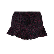 Flowerpoweriz black shorts black.