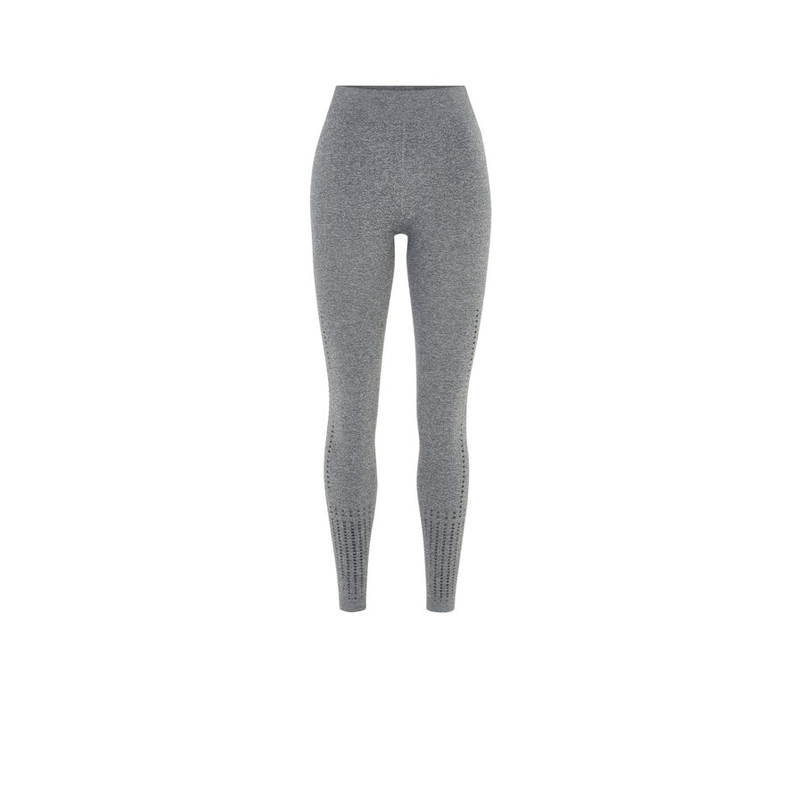 Legging gris seamtriz;