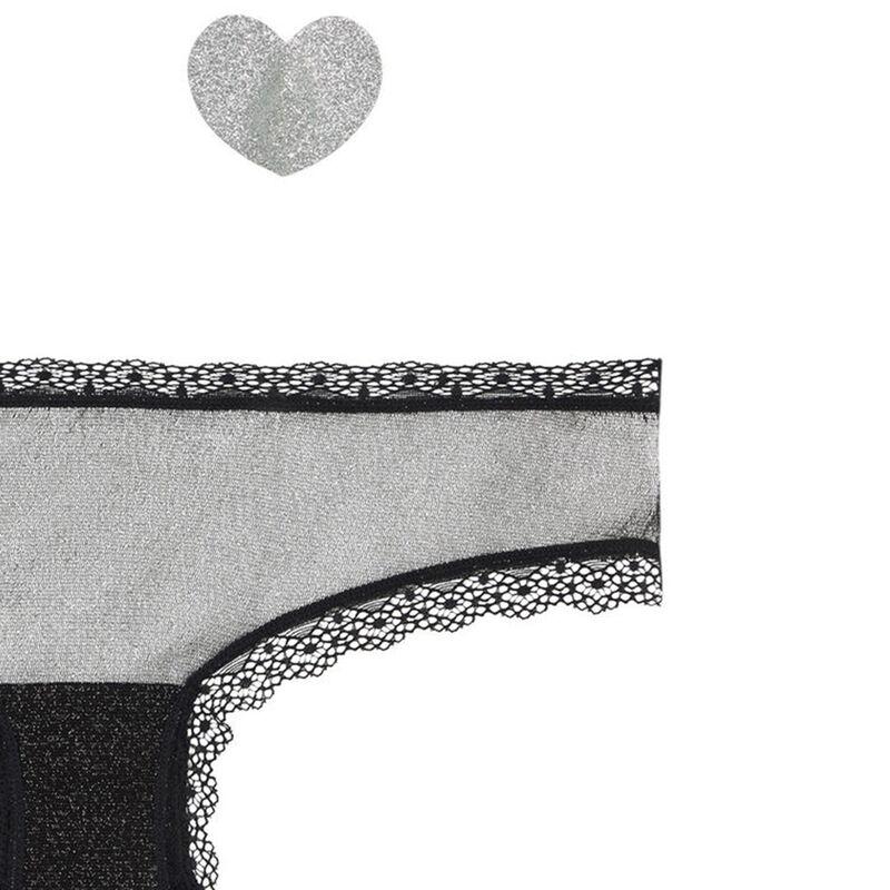set culotte + cache-tétons lipsiz;