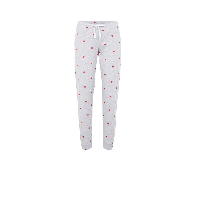 Pantalon gris pixeliz;