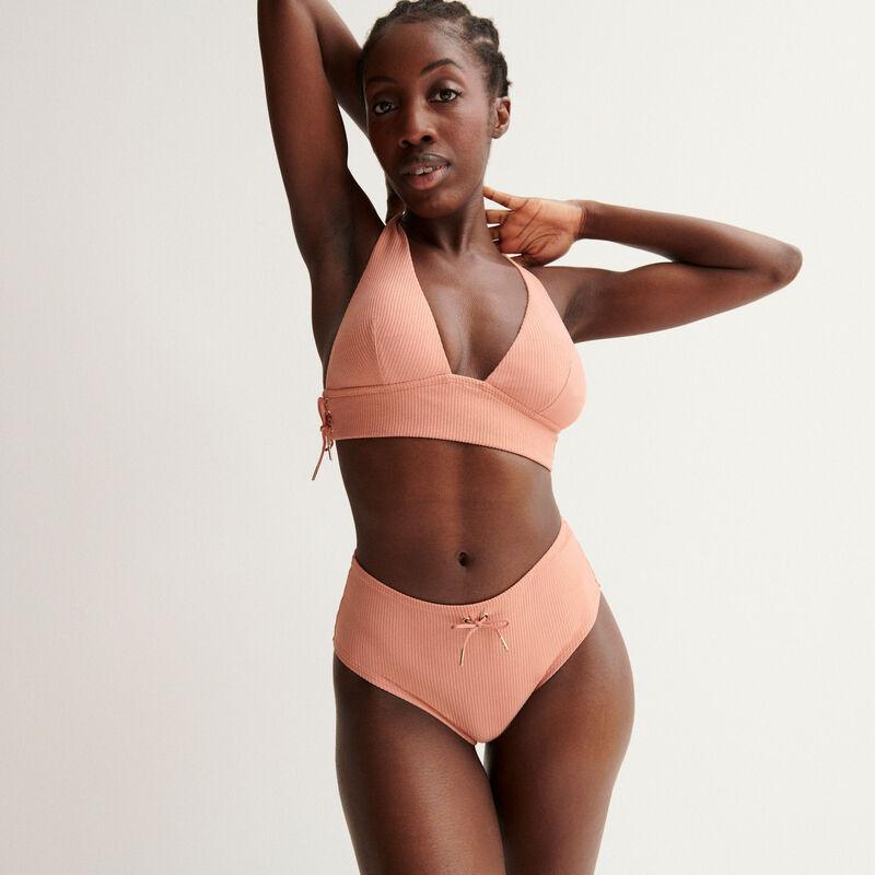 culotte taille haute Aya x undiz - rose nude;