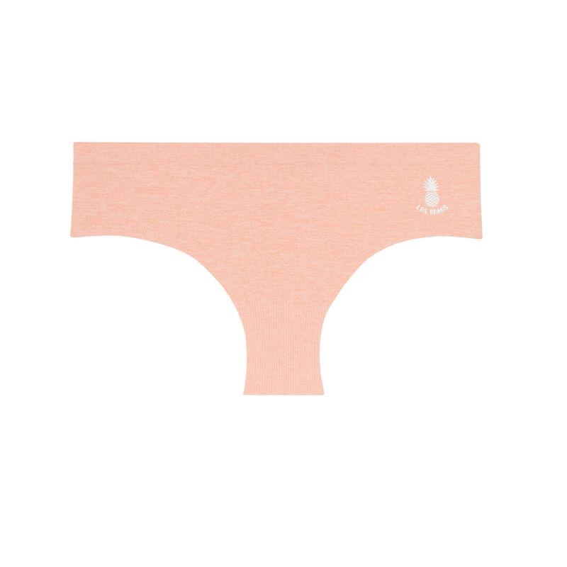 shorty uni seamless détail ananas - rose;