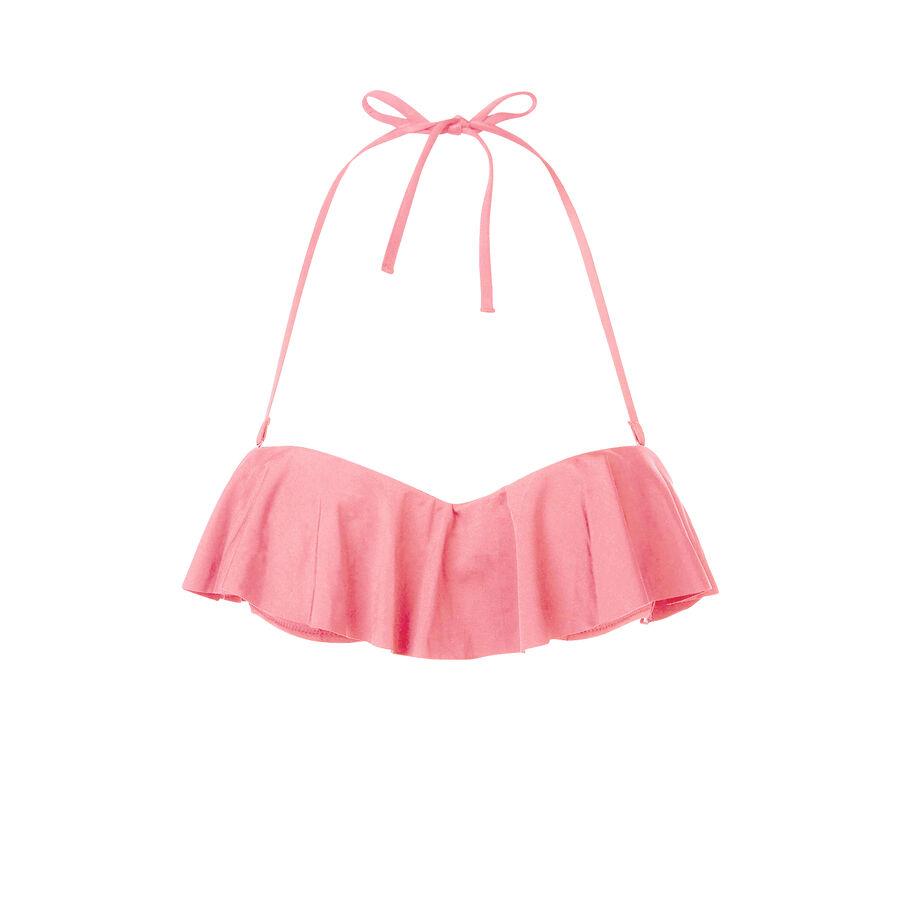 Haut de maillot de bain rose pâle citroniz;${refinementColor}
