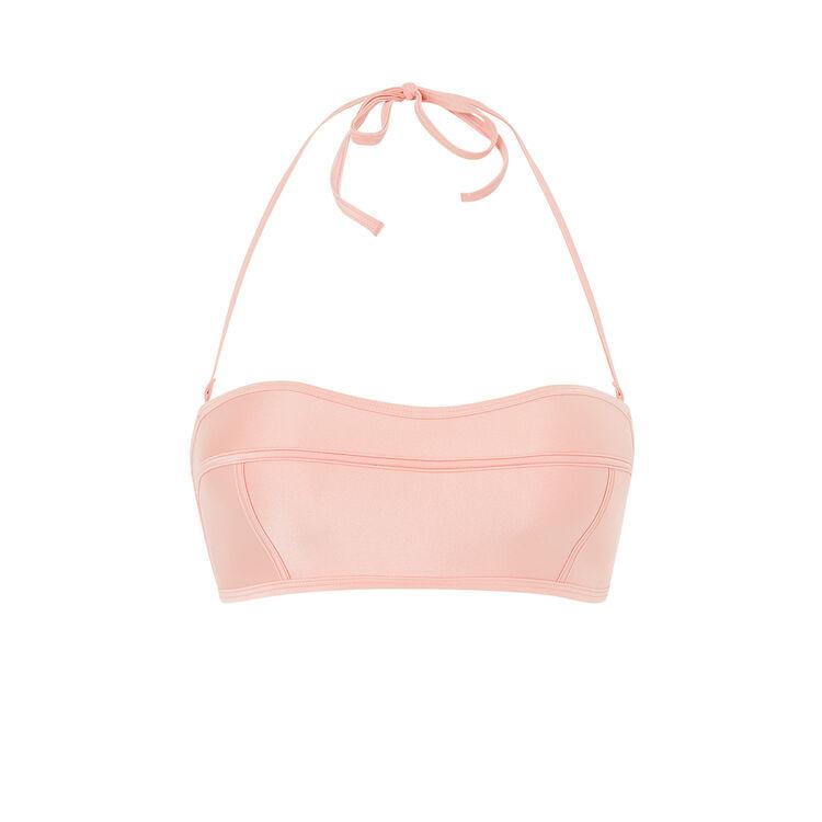 Haut de maillot de bain rose poupiz pink.