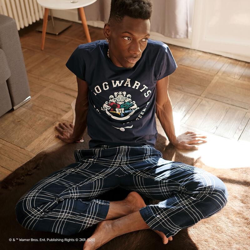 pyjama set Harry Potter à rayure - bleu;