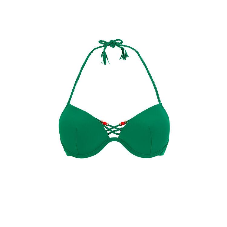 Haut push vert émeraude mumbaiz green.