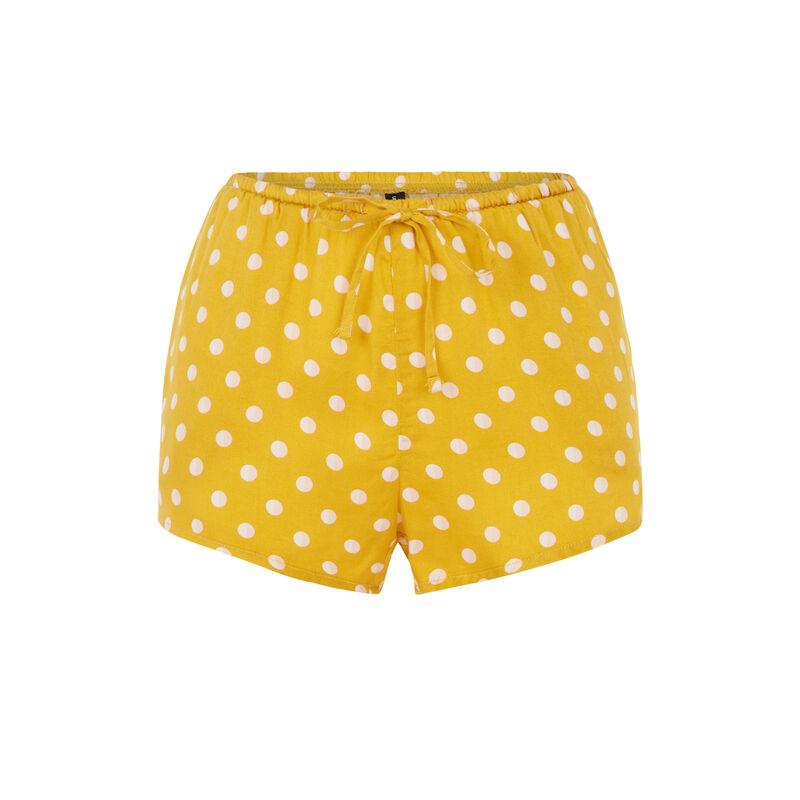 Short jaune doré cortiniz;