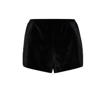 Short noir velcroisiz black.