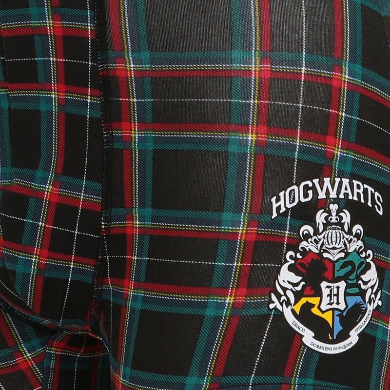boxer à motif emblème Harry Potter - noir;