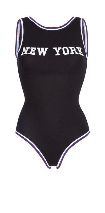 Body de sport noir newyorkiz black.