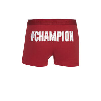 Boxer bordeaux  hashtagiz red.