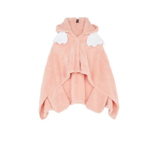 Poncho rose superliz;