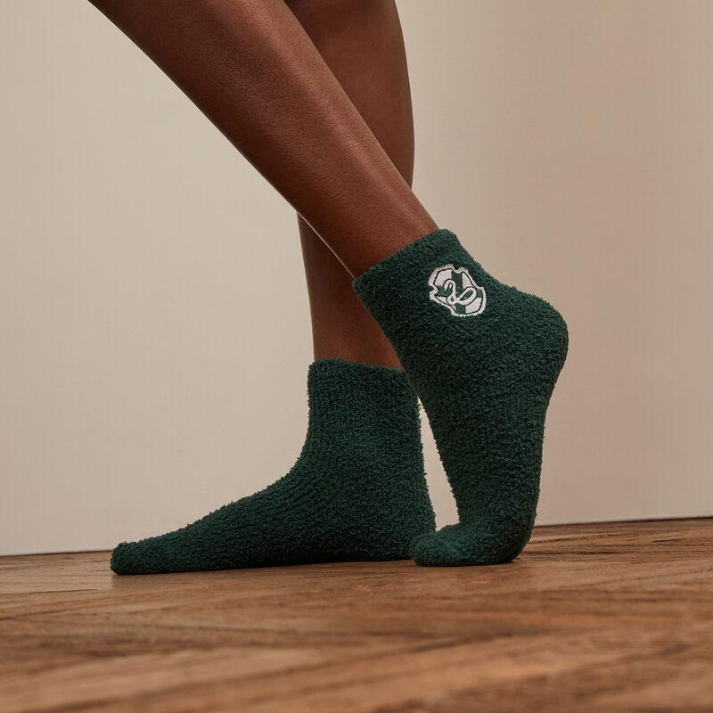 chaussettes Serpentard - vert;