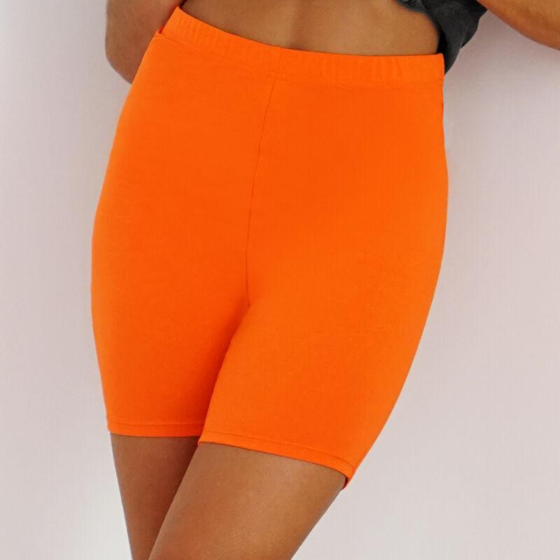 Cycliste taille haute - orange;