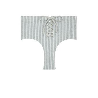Culotte taille haute grise lareiz grey.