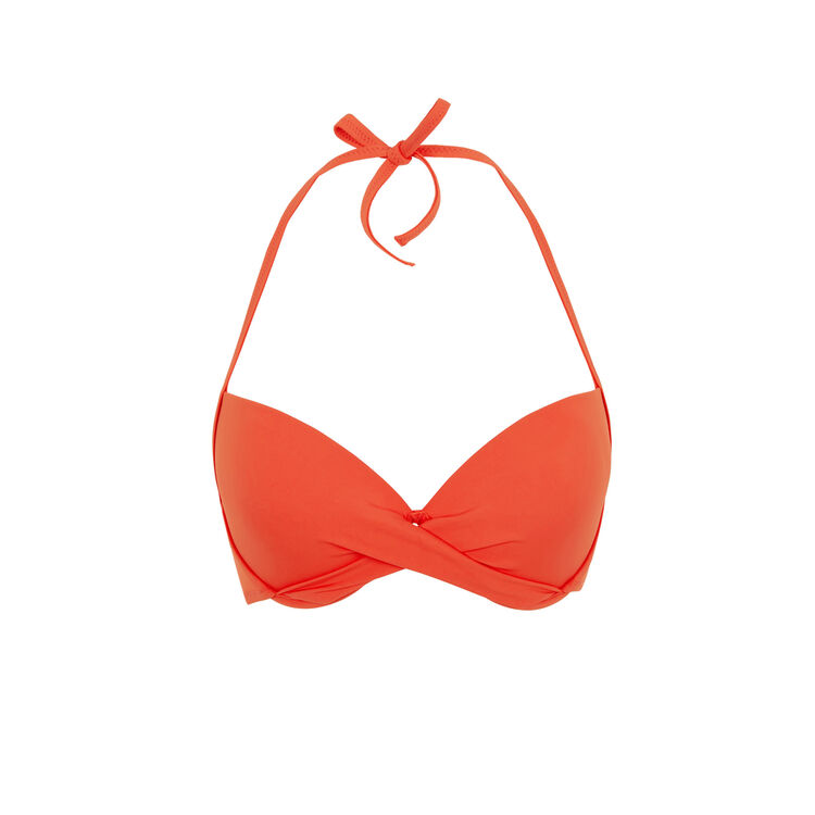 Haut push corail twistiz red.