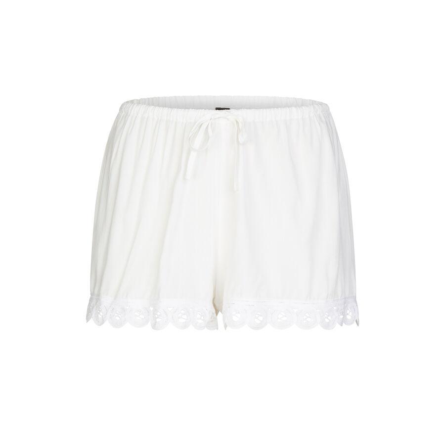 Vintagiz white shorts;${refinementColor}