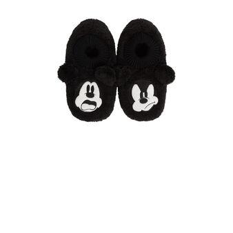 Chaussons noirs fouliz black.