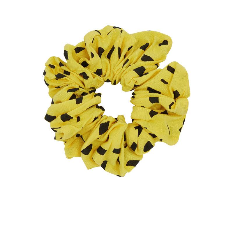 Chouchou imprimé Marsupilami - jaune;
