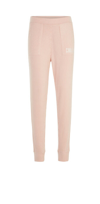 Pantalon rose clair loungepochiz pink.