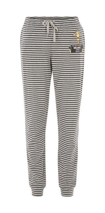 Pantalon gris clair melmugiz grey.