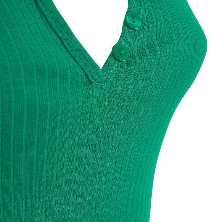 Top vert émeraude newdebidiz green.