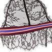 Showiz black triangle bra;${refinementColor}