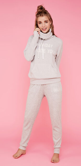 Sweat rose clair weekendiz pink.
