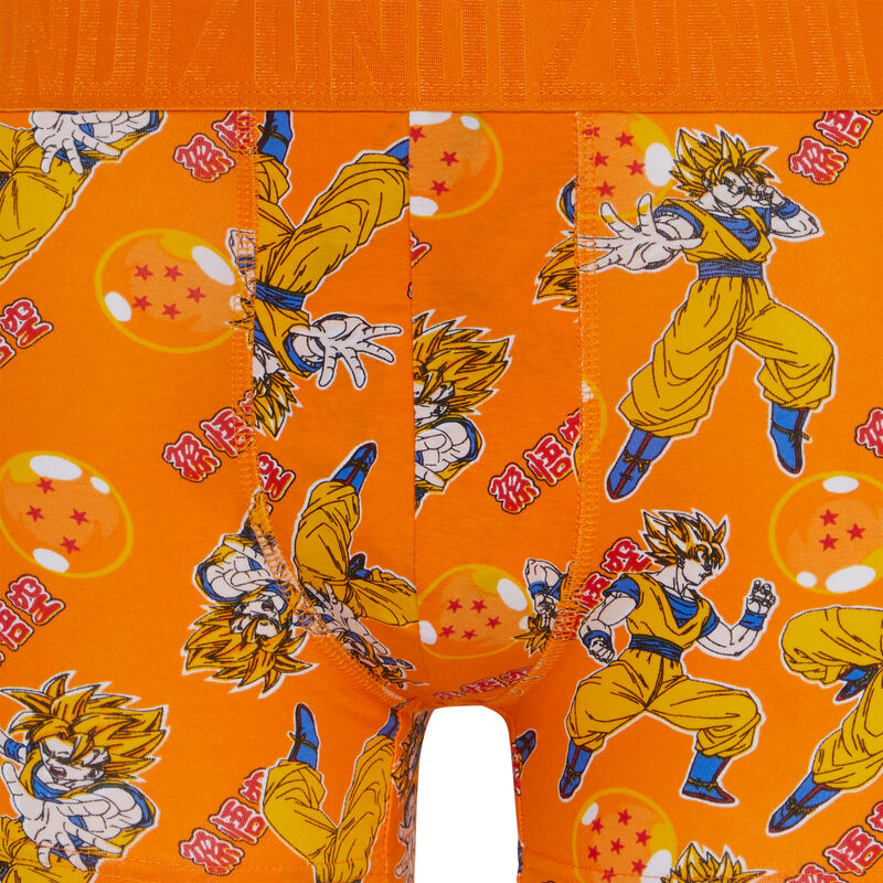 boxer à motifs Sangoku - jaune;
