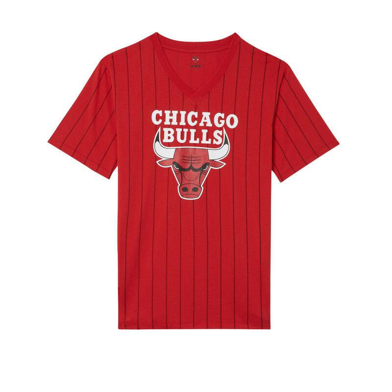 tunique col v chicago bulls - rouge;
