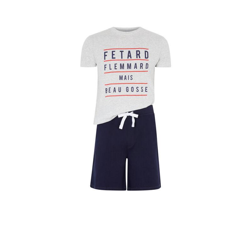 Set pyjama a message fletardiz;