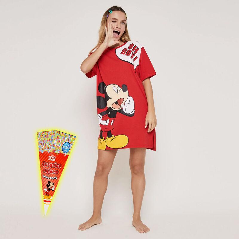 Set pyjama tunique + shorty imprimé Mickey ohboyiz;