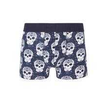 Sylviz blue boxer shorts blue.