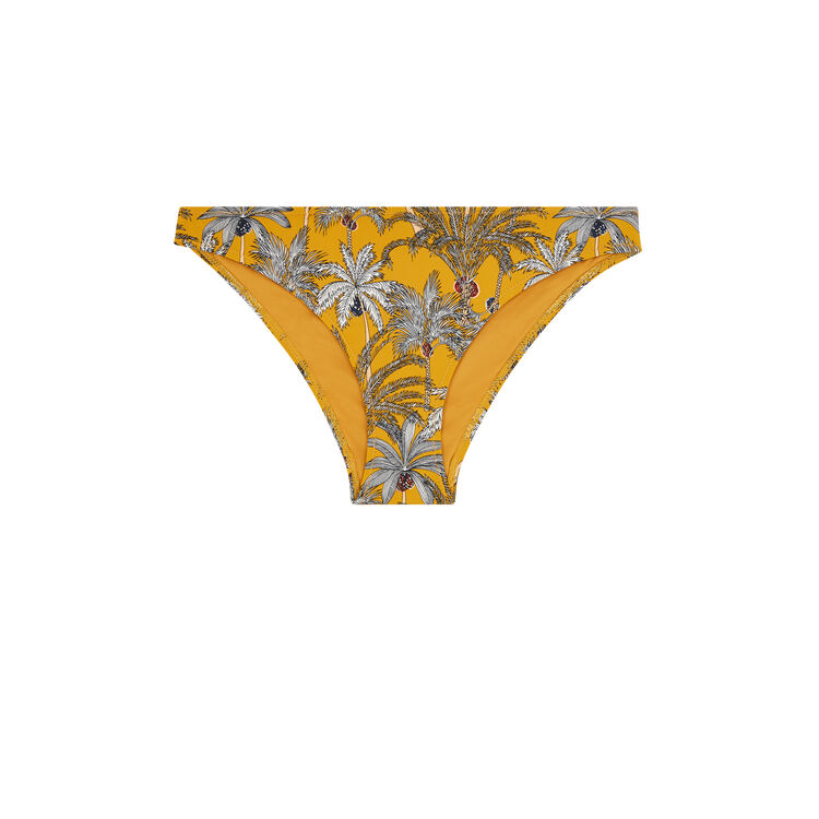 Culotte jaune moutarde teneriz yellow.