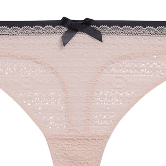 New voltiz pale pink thong pink.