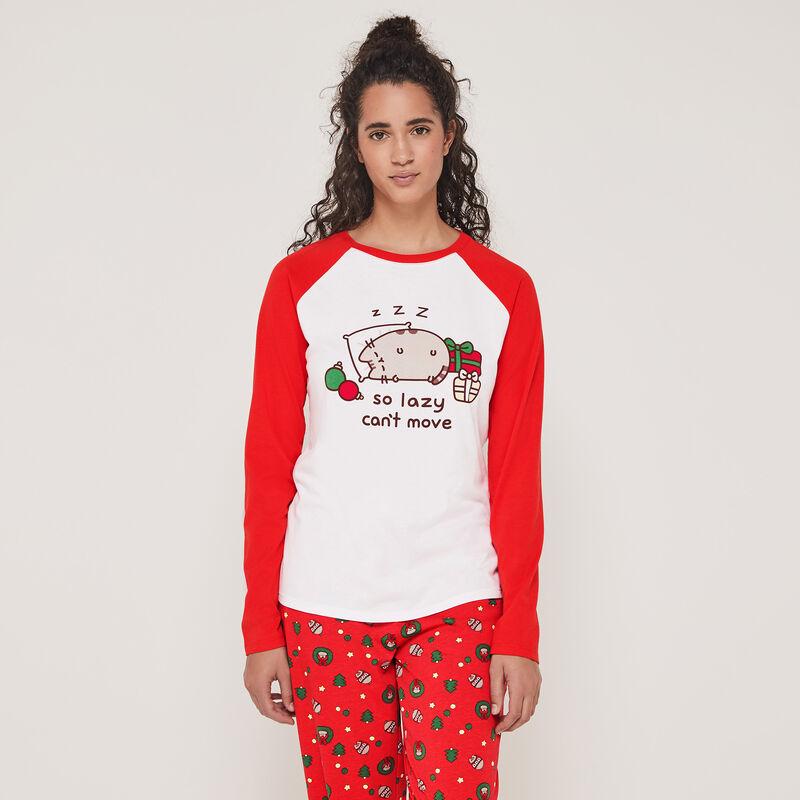 Set pyjama top + pantalon imprimé Pusheen interpusheenaniz;