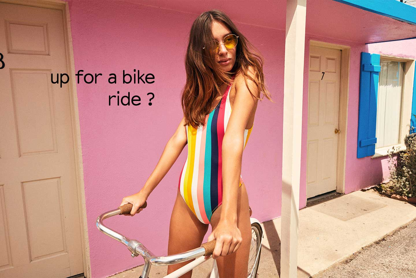 up for a bike ride ?