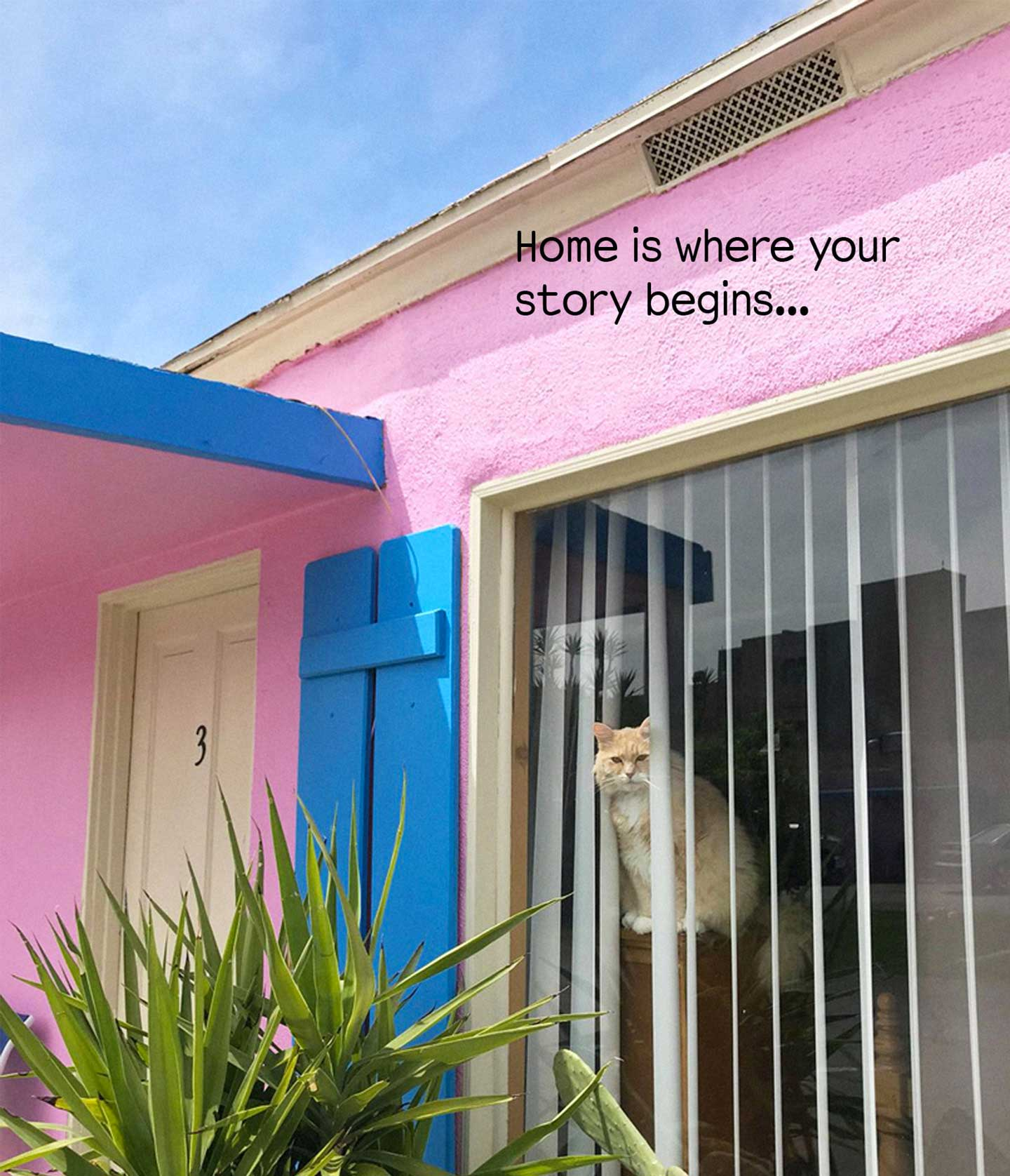 Home is where your story begins ...